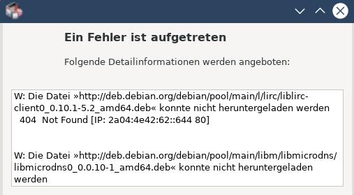 VLC-nicht install